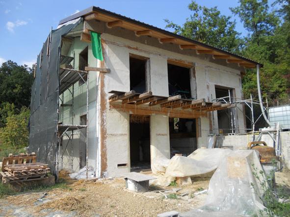 Autostruzione casa di paglia a pavia - Casa di paglia ...